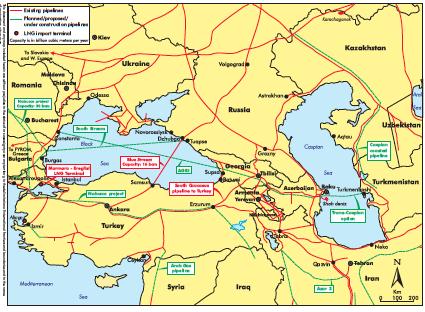 Eurasia Gas Pipelines -2012 -IEA